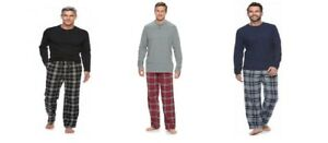 2 Piece Croft & Barrow Pajamas Sleepwear Loungewear Set ~ Size Large TALL ~ NWT