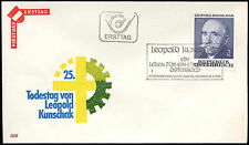 Austria 1978 Leopold Kunschak FDC First Day Cover #C17659