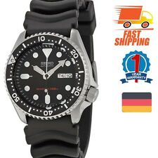 Seiko Analog Sportart Automatic Diver's Schwarz Herren SKX007K1
