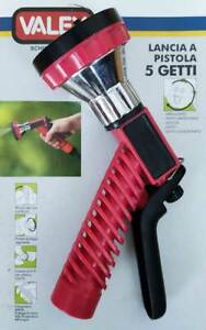 Lancia a pistola 5 getti irrigazione giardinaggio orto