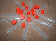 25 Muzzleloader Powder Charge Tubes Vials Speedloader Blackhorn 209 Compatible