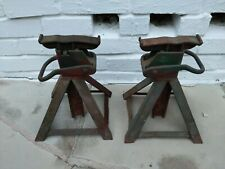 Vintage Manley 2 Ton Jack Stands Model P 900 York Pa Usa 1930s Patent 1894293