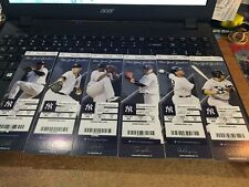 2016 NEW YORK YANKEES SEASON TICKET STUB PICK YOUR GAME PART 2 GARY SANCHEZ