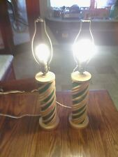 Bamboo Lamps (Pair!!!)