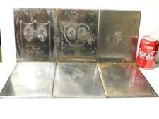 6 19thC rambaut retratos de familia Libro Pedigree acero grabado impresión placas