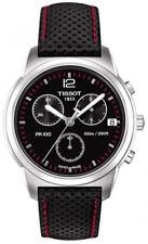 Tissot PR-100 Black Chronograph Stainless Steel Men's Watch T0494171605700