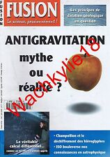 Fusion n°81 du 05/2000 Sciences Antigratiation Champollion Calcul différentiel