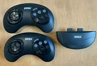 Sega Genesis Wireless Controllers - Lot of 2 -  w/ Receiver