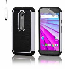 Fundas y carcasas blancos modelo Para Motorola Moto G4 para teléfonos móviles y PDAs Motorola