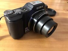 Sony Cyber-shot DSC-H20 10.1MP Digital Camera - Black