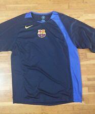 camiseta jersey trikot maglia NIKE shirt maillot FC BARCELONA TRAINNING XL