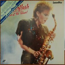 "QUARTERFLASH Laserdisc Live at the Palace JAPAN LD OBI ""Find Another Fool"""