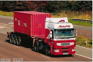 Truck Photo: DUNCAN ADAMS - Renault Premium SJ11 HRN  SCOTLAND Transport Haulage