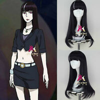 Death Parade Chiyuki Purple Black Cos Wig New Animation Cosplay Wig Hair