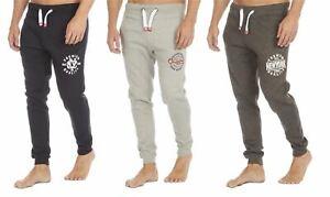 Cargo Bay Men's Elasticated Cuffed Jogger Track Sweatpant Jogging Bottom Trouser