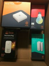 New Hive Hub Lot- Works with Alexa & Google Home to Turn Devices On & Off