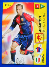 CARD PANINI CALCIO GAME 2006/07 - N. 119 - ADAILTON - GENOA - new