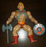 Masters of The Universe He-Man Original Action Figure Vintage MOTU Excellent