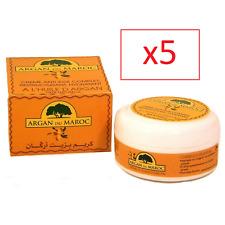 Crème de soin de visage Bio à l'huile d'Argan pure du Maroc 100 ML