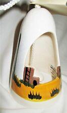 Vtg Souvenir Wind Chime South West Pueblo 5�t ceramic