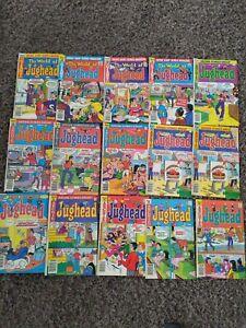 Huge ARCHIE Lot of 45 JUGHEAD Vintage COMIC BOOKS