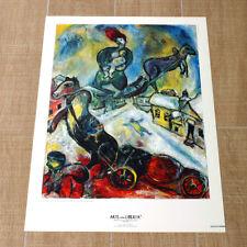 MARC CHAGALL LA GUERRA poster manifesto affiche War Genova Palazzo Ducale E27