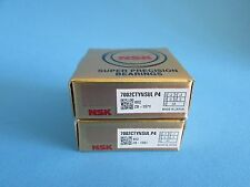 NSK 7002CTYNSULP4 ABEC-7 Super Precision Angular Contact Bearing. Matched Pair