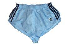 adidas Sprinter vintage Nylon 80s Shorts shiny Sporthose Gr. 4 BW 36-47 blau GS1