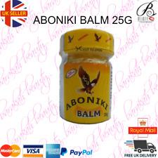 Aboniki Balm Relieves pain, aches, waist pain, backaches, cold and catarrh -25g-