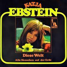 """7"""" Katja Ebstein ce monde ESC grand prix EUROVISION liberty 1971 NEUF!"""