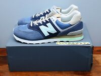 New Balance 574 Retro Surf Navy Blue Mens ML574BSL