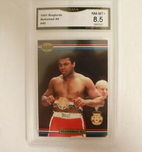 1991 Ringlords Boxing Muhammad Ali #40 GMA 8.5