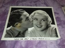"Vintage 1930's  ""HOLD EM JAIL "" MOVIE  PUBLICITY PHOTO B&W  8X10"" RADIO"
