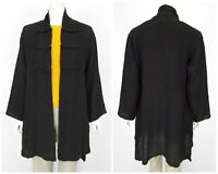 Womens The Masai Clothing Company Open Front Cardigan Jumper Black India Size M