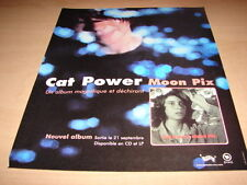CAT POWER - MOON PIX!!!!!!!!!!!!!!!! PUBLICITE / ADVERT