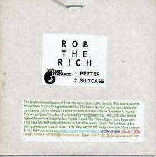 (AR668) Rob The Rich, Better / Suitcase - DJ CD