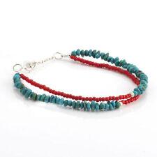Turquoise Beaded Fine Bracelets