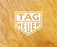 TAG HEUER Logo Aufkleber Sticker Rennsport Retro Oldschool Tuning Decal Sponsor