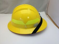 Fibre-Metal by Honeywell P2ASW02A000 Super Eight Swing Strap Fiber Glass Cap Style Hard Hat Yellow