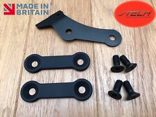 Yamaha MT-09 Foot Rest / Peg Blanking Plates & Reservoir bracket.Pillion.Removal