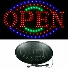 Ultra Bright Led Neon Light Animated Motion with On/Off Store Open B 00006000 usiness Sign
