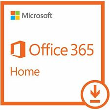 Microsoft Office 365 Home | 1-year subscription, 6 users, PC/Mac Download