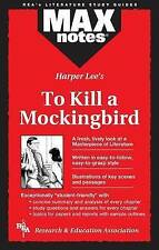 HARPER LEE'S TO KILL A MOCKING BIRD- MAX NOTES,  NEW, FREE SHIPPING IN AUSTRALIA
