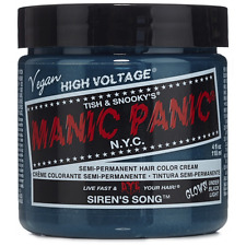 Manic Panic Semi-Permament Hair Color Cream, Sirens Song 4 oz (Pack of 2)