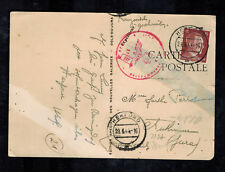 1944 Herford Germany Postcard Censored Cover to France