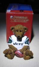 New York Jets Teddy Bear NFL Football Jersey Collectible Elby Figurine