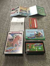 Game soft Famicom 『Family jockey』Box and with an instructions from Japan ◎