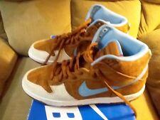 Nike SB Skate Mental Dunk High (10) Hazelnut Light Blue 313171-241 VNDS 2009!