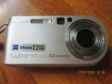 Sony Cyber-shot DSC-P200 7.2 Mega Pixels Camera MPEG Movie VX .NO CHARGER