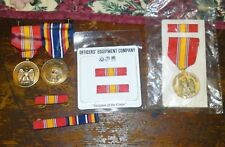 OEC-Insignia of the Corps - Nat. Defense, War on Terrorism Ser. Medals/Ribbons
